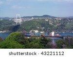 Bosphorus Bridge  Marmara Sea...