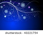 abstract christmas background. ... | Shutterstock .eps vector #43221754