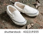 white women sneakers without... | Shutterstock . vector #432219355