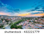 Evening View Of Tbilisi At...