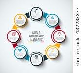 vector infographic design... | Shutterstock .eps vector #432233377
