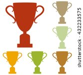 champions cup sign | Shutterstock .eps vector #432233575