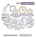 vector illustration of creative ... | Shutterstock .eps vector #432261517