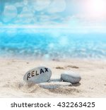 relax in the beach | Shutterstock . vector #432263425