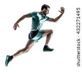 man runner jogger running ... | Shutterstock . vector #432271495