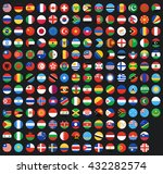 flag of world. vector icons | Shutterstock .eps vector #432282574