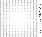 binary code black and white... | Shutterstock .eps vector #432285619