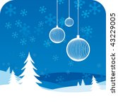 christmas tree | Shutterstock .eps vector #43229005