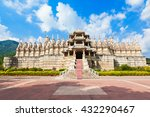 ranakpur temple is a jain...   Shutterstock . vector #432290467