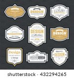 frame classic template. vintage ... | Shutterstock .eps vector #432294265