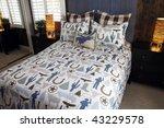 designer bedroom with... | Shutterstock . vector #43229578