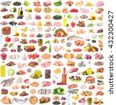 food collection | Shutterstock . vector #432300427