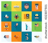 4th of july  independence day... | Shutterstock .eps vector #432307501
