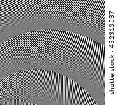 wavy  zigzag lines  lines with... | Shutterstock .eps vector #432313537