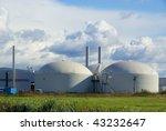 biogas plant | Shutterstock . vector #43232647