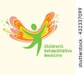 children rehabilitation... | Shutterstock .eps vector #432337099
