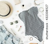 Woman Summer Clothes And...