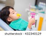 blurred image the fluoride... | Shutterstock . vector #432340129