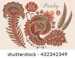 vector indian elements.  | Shutterstock .eps vector #432342349