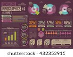 business infographics set with... | Shutterstock .eps vector #432352915