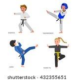 cute vector character child.... | Shutterstock .eps vector #432355651