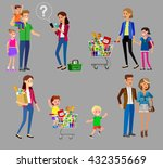 concept banner for shop ... | Shutterstock .eps vector #432355669