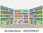 concept illustration for shop ... | Shutterstock .eps vector #432355819