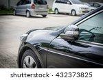 rear view mirror  folded | Shutterstock . vector #432373825