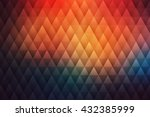 abstract bright geometrical... | Shutterstock .eps vector #432385999