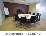 conference room in modern... | Shutterstock . vector #43238740