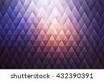 abstract geometrical triangular ...