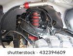 Close Up Of Car Shock Absorber...