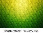 abstract 3d vector geometrical... | Shutterstock .eps vector #432397651