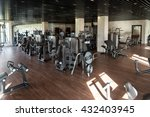 equipment and machines at the... | Shutterstock . vector #432403945