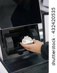 Small photo of Dental 3d scanner in dental laoratory.