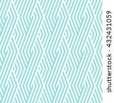 pattern stripe seamless green... | Shutterstock .eps vector #432431059