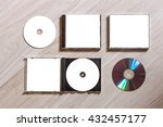 full set compact disc template...