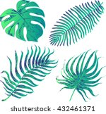 set of graphic illustration of...   Shutterstock .eps vector #432461371