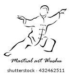illustration shows a martial... | Shutterstock . vector #432462511