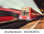 railway station with modern... | Shutterstock . vector #432466921