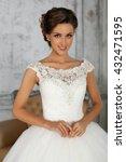 Beautiful Wedding Dress. Bride...