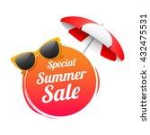 special summer sale label   Shutterstock .eps vector #432475531