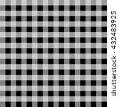 seamless checkered vector...   Shutterstock .eps vector #432483925