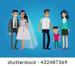 detailed character people.... | Shutterstock .eps vector #432487369