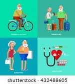 vector detailed character... | Shutterstock .eps vector #432488605