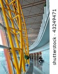 ceiling structure in airport ... | Shutterstock . vector #43249471