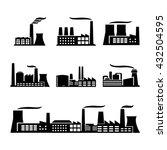 industrial buildings | Shutterstock .eps vector #432504595