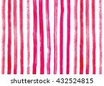 pink watercolor background.... | Shutterstock . vector #432524815