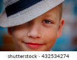 closeup portrait handsome... | Shutterstock . vector #432534274