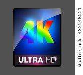 4k. | Shutterstock .eps vector #432548551